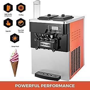 machine à crème glacée molle