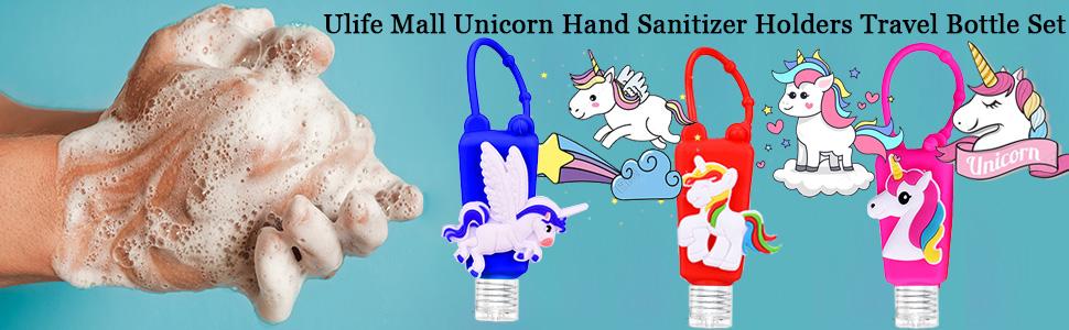 Ulife Mall Unicorn series hand sanitizer holders