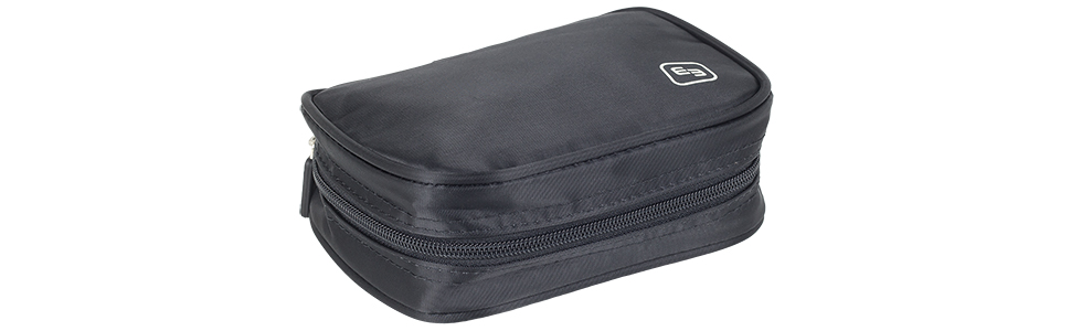 EB ELITE BAGS PHIAL'S - Fiala di colore nero