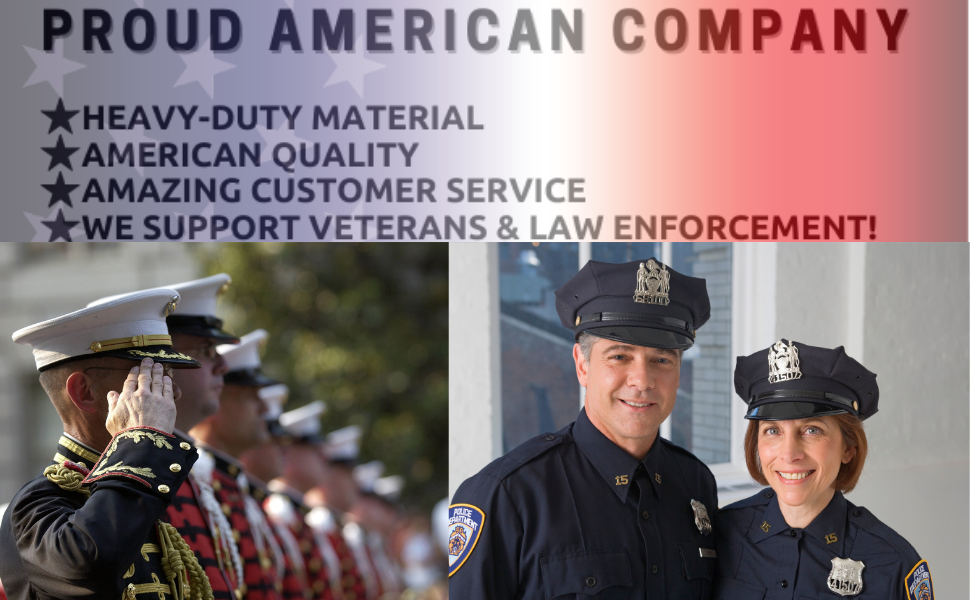 Proud American Company - We support Police
