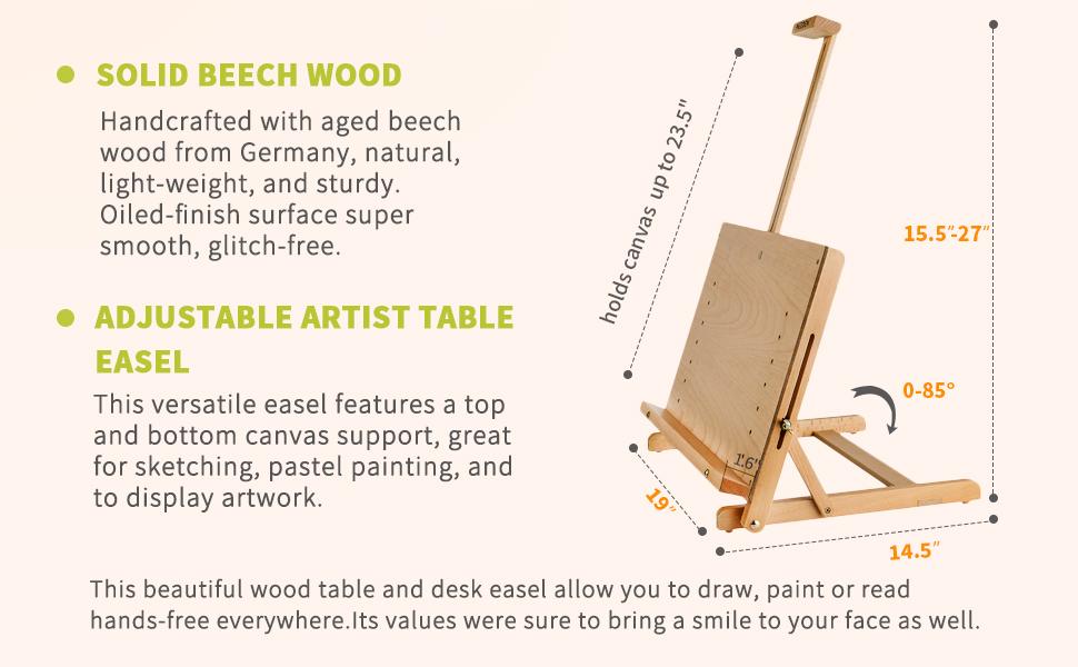 Drawing Table Desk Portable Adjustable