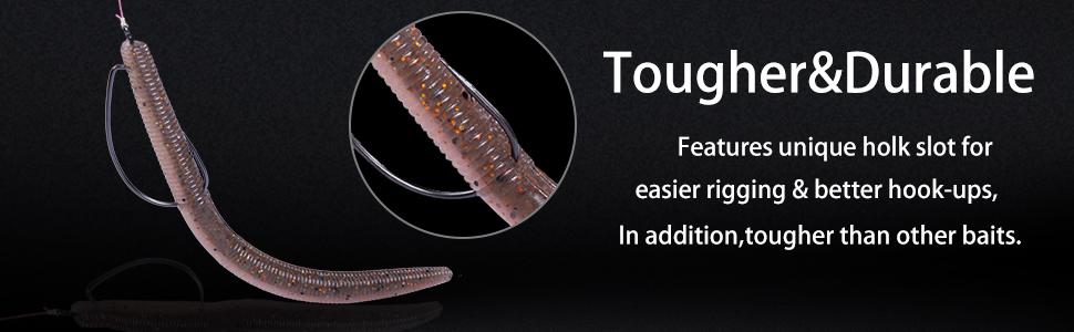 wacky senko worms soft plastic lures for bass