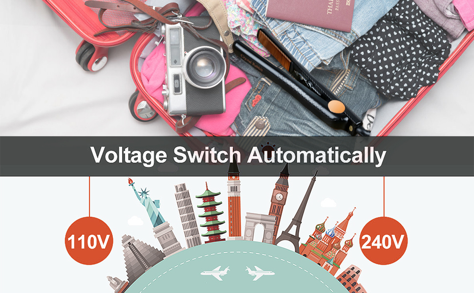 DUAL VOLTAGE switch automatically