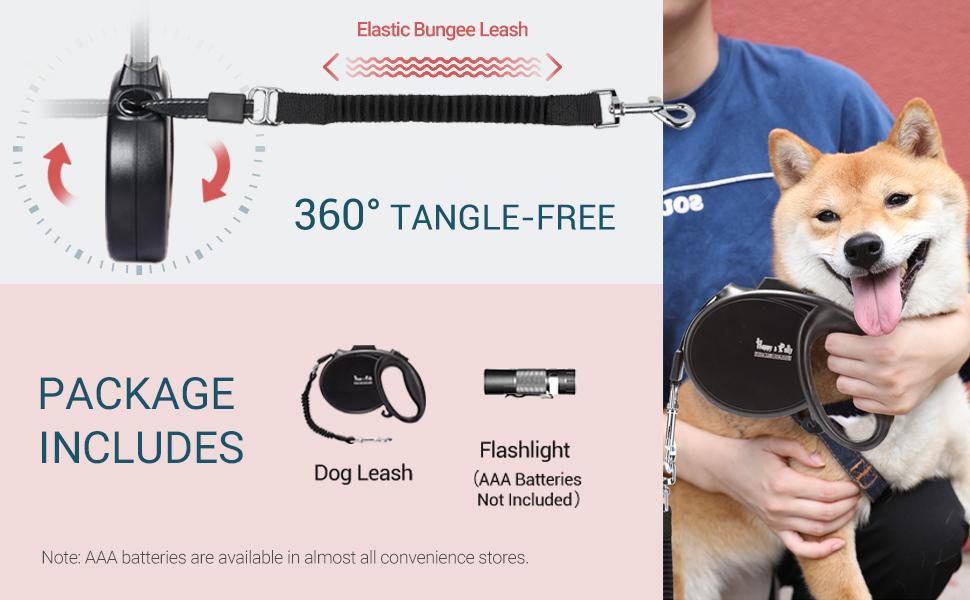 Espeedy Adjustable perro Leash Nylon Color s/ólido Suministros de mascotas para correr Caminata Senderismo