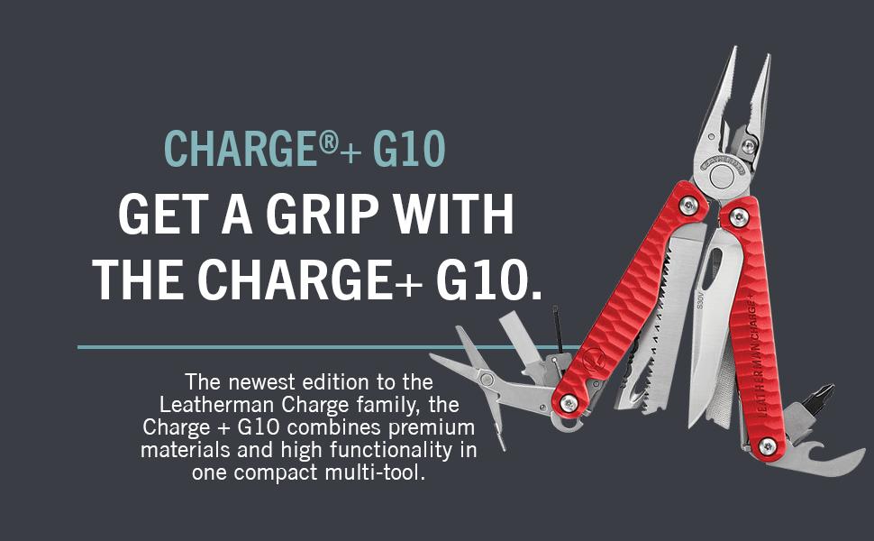 Leatherman Charge Plus G10, Leatherman Multitool, Multipurpose Tool, Multitool