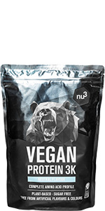 Batidos de proteínas veganas - Proteína vegetal 3K en polvo ...