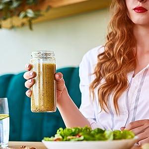 neoprene bottle sleeve for juicing jars, glass bottles