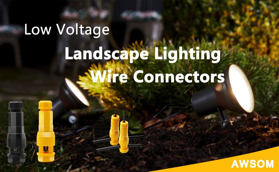 landscape Lights Connectors