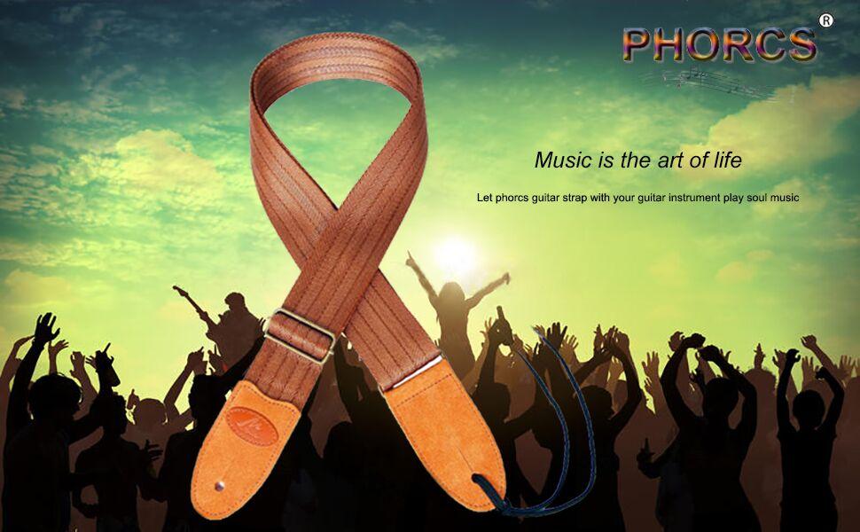 Phorcs guitar strap for ukelele