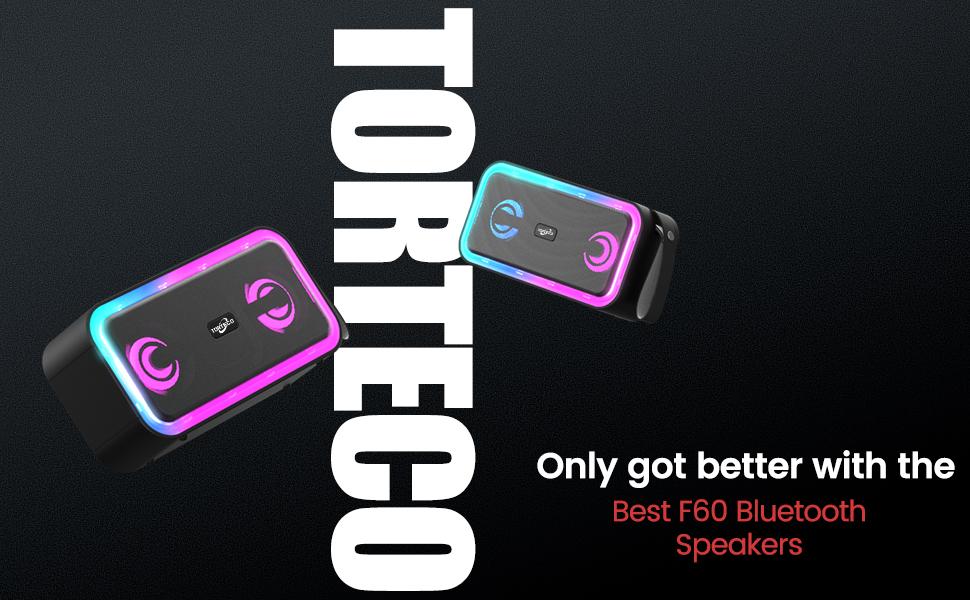 Portable Bluetooth Speaker with Gradient Light