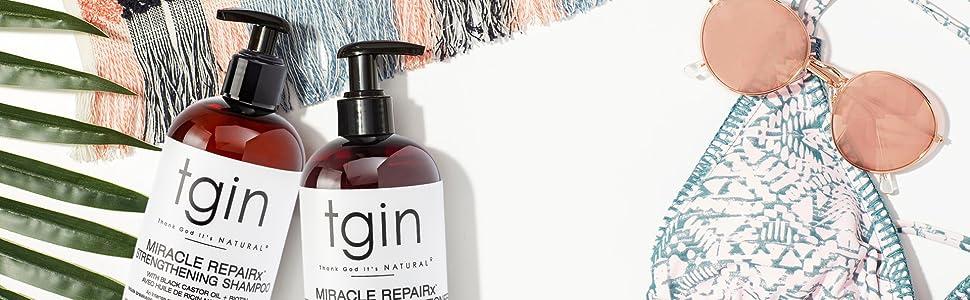 Miracle, repairx, tgin, moist, dry hair