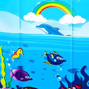 sea animal style design pattern