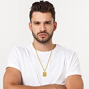 18k gold necklace for man