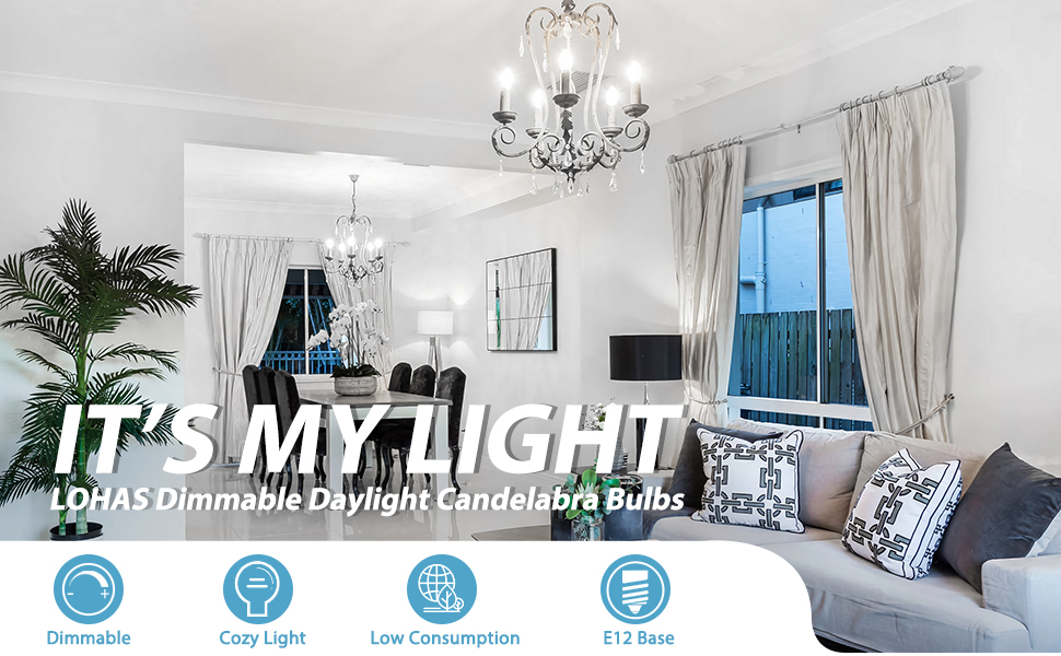 E12 led bulb e12 candelabra light  bulb e12 candle light e12 ceiling fan light bulb dimmable light