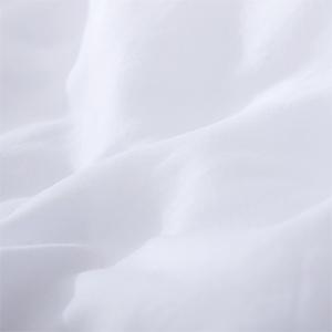 100% washed microfiber duvet cover set