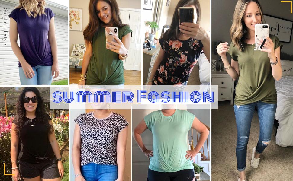 womens summer t-shirts