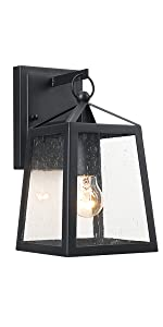 Outdoor Wall Sconce Light Fixtures One-Light