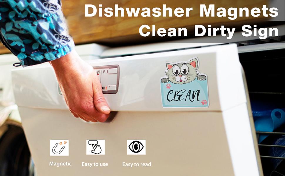 dishwasher magnet sign