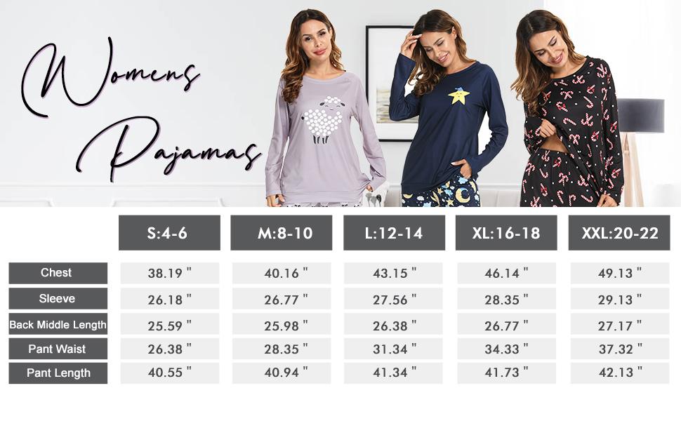 sleepwear set for women plus size women loungewear set for juniors cute shirt and pants pj set omen