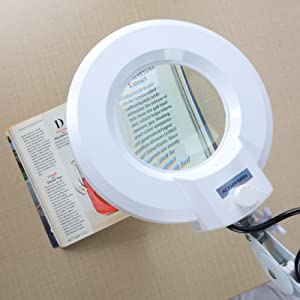 led light magnifyer glass