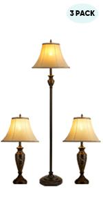 lamp set of 3