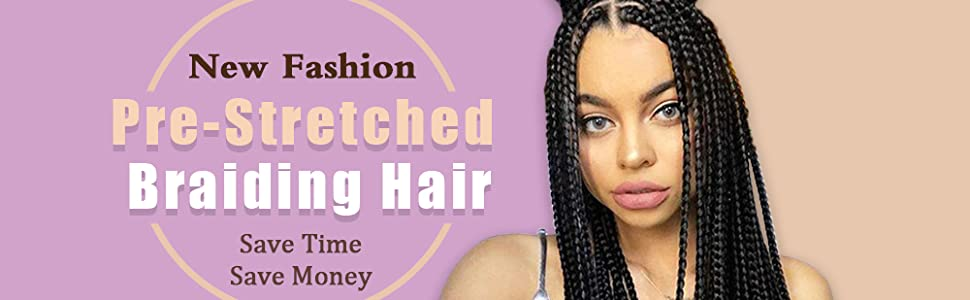 xpressions pre stretched braiding hair extension braiding hair pre stretched braiding hair 1b
