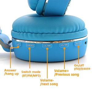 Bluetooth 5.0 Unicorns Headphones