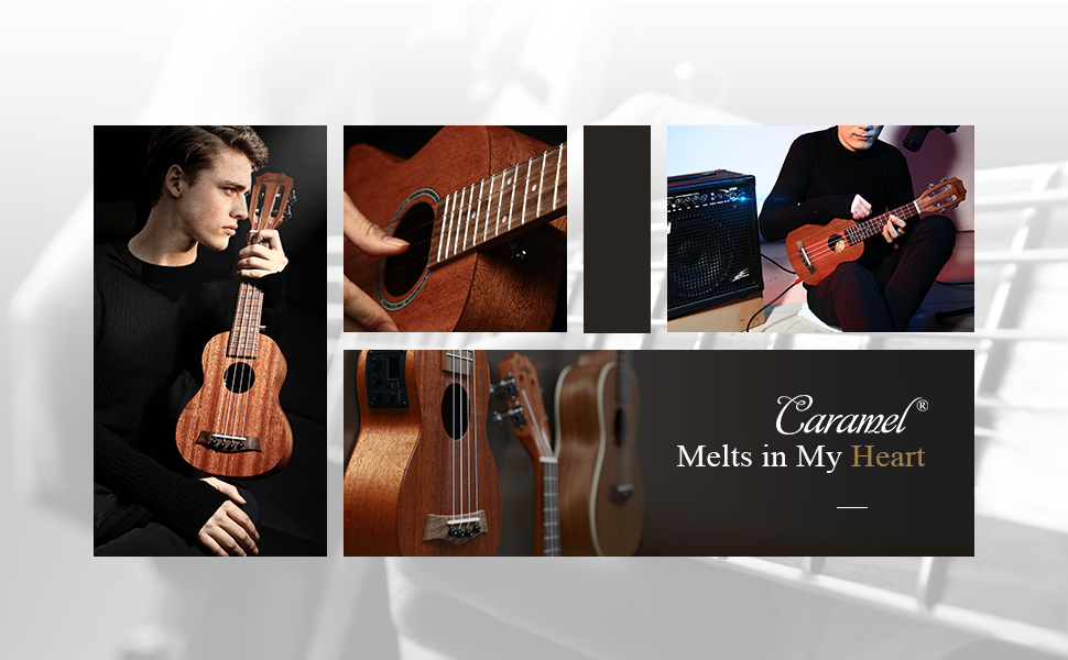 3 bands EQ built in tuner with LCD color display, Classical guitar headstock silver machine tuner