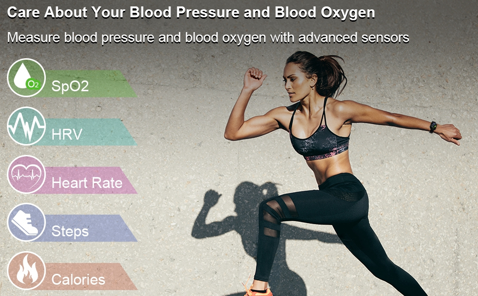 fitness tracker with blood pressure monitor