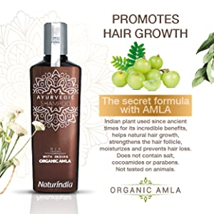 Salt free hair growth shampoo