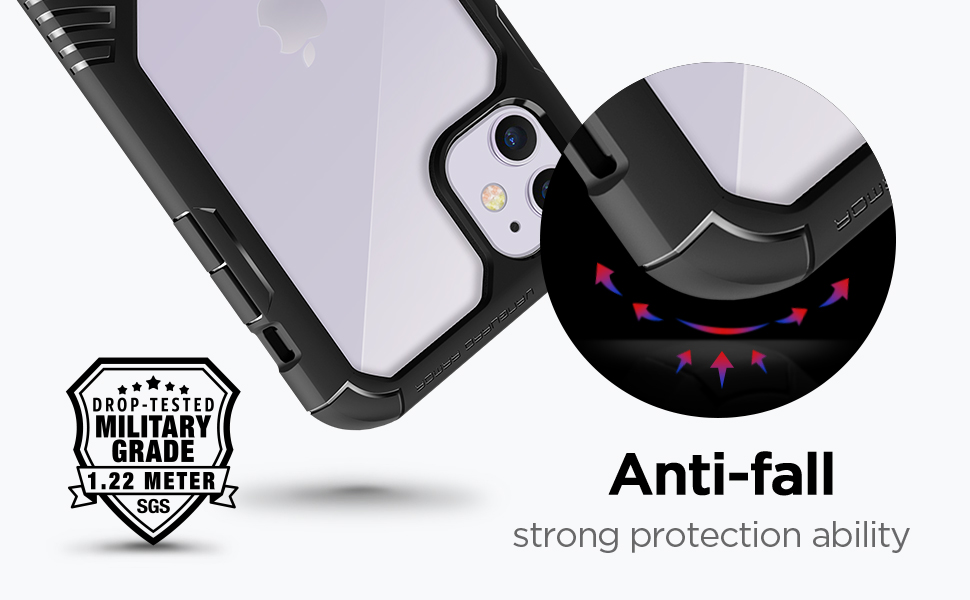 MOBOSI Vanguard Armor Designed for iPhone XI 6.1-Inch 2019 Case