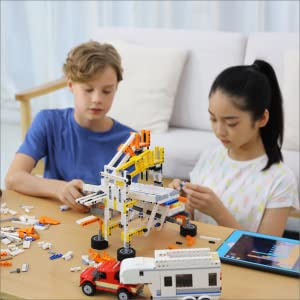 kids children ages 12 and up learn programming coding sensors compatible blocks toy