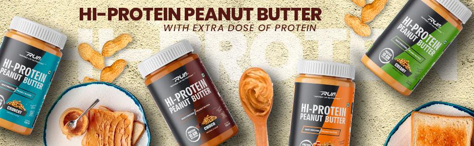 hi protein peanut butter
