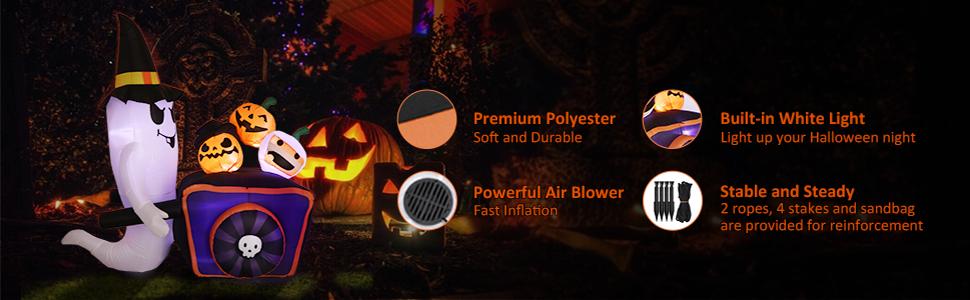 halloween inflatable pumpkin