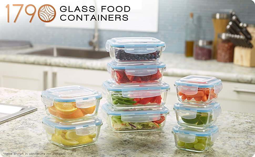 1790 Glass Food Container header