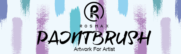 Rosmax Acrylic Paint Brush sets