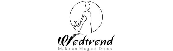 wedtrend Women's fashion trend make an elegant dress
