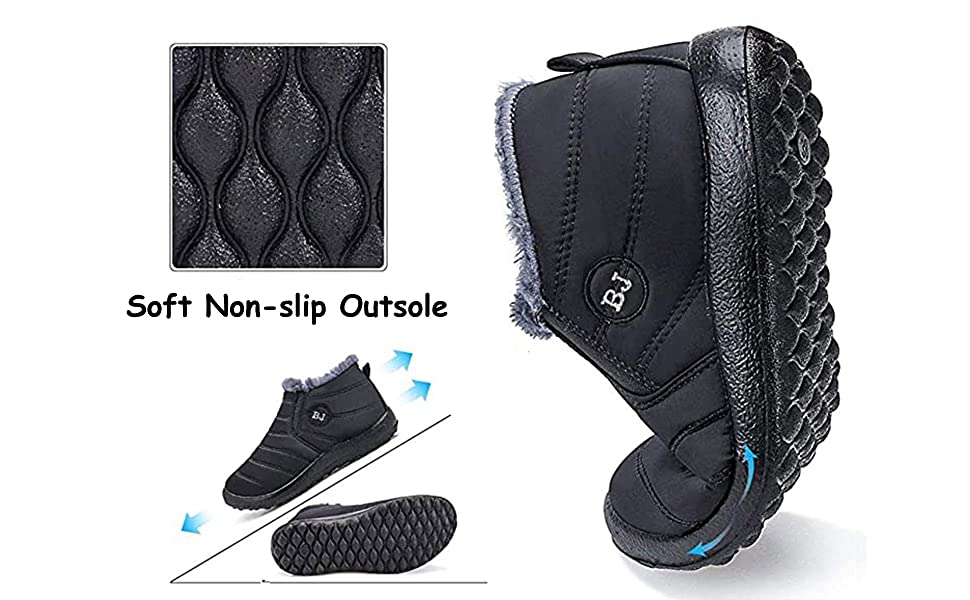 non slip boots for women
