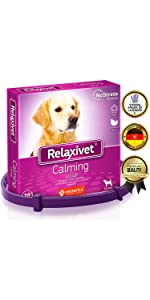pheromone calming collar for dogs anxiety relief stress relieve prevention