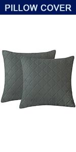 SUBRTEX Throw Pillow Covers Set