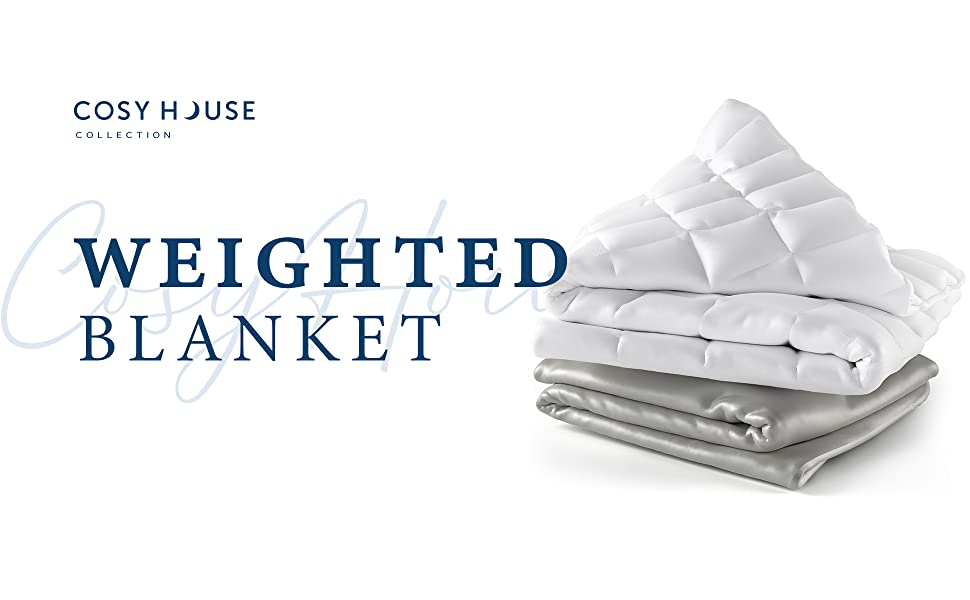 cosy house collection luxury bamboo weighted blanket