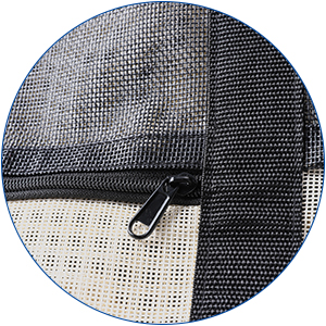 mesh beach bag