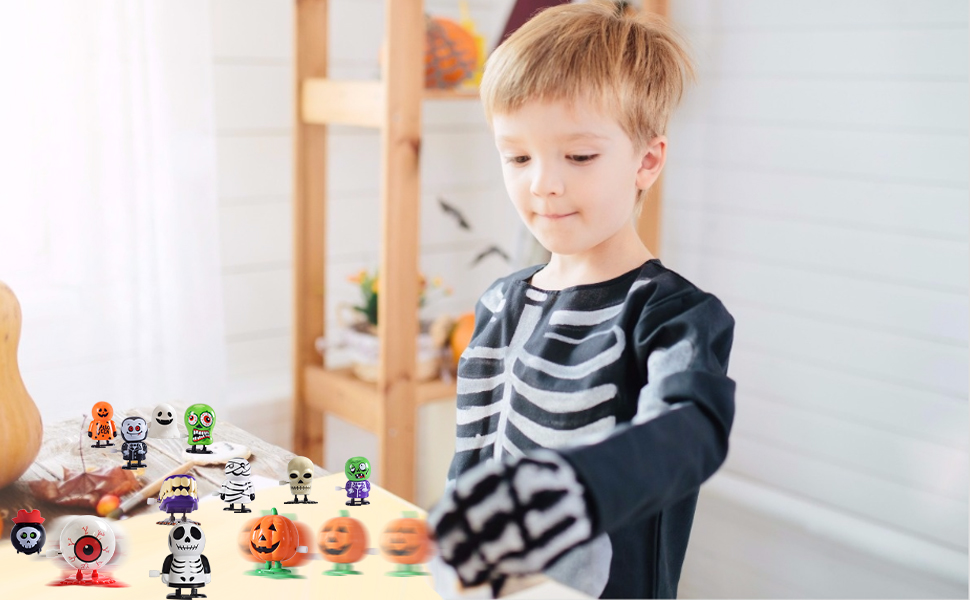 Halloween wind up toys for kids