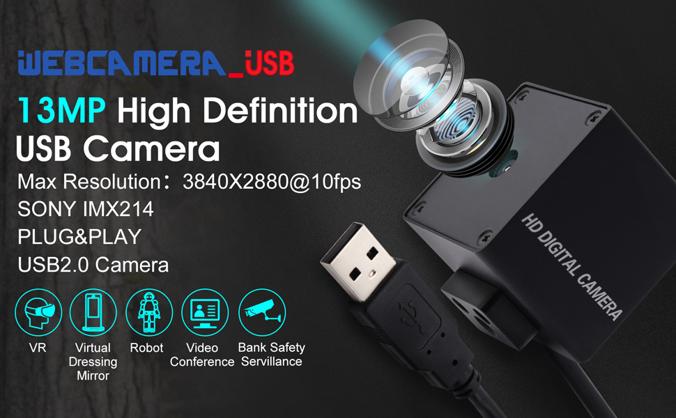 13mp autofocus usb camera module mini usb webcam mini camera high definition usb with cameras
