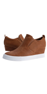 women wedge sneaker