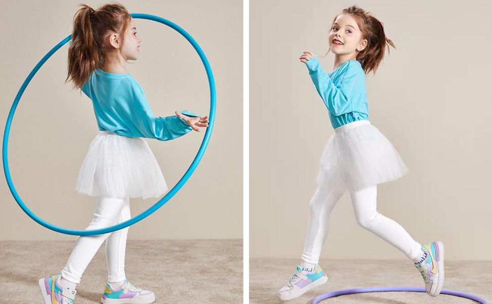 THEE BRON Toddler//Little Girls Capri Leggings Pants