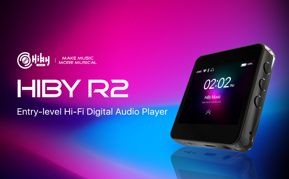 HiBy R2 Portable Hi-Res Music Player