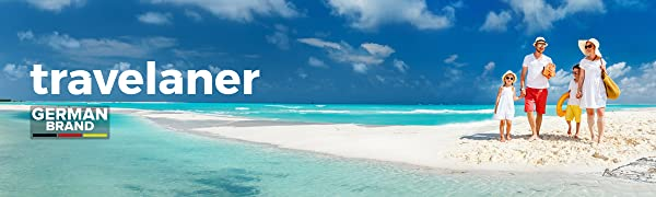 Travelaner, Kulturbeutel, Kulturtasche, Kosmetiktasche, Frauen, Männer, Mädchen, Jungen