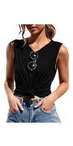 sleeveless top for women