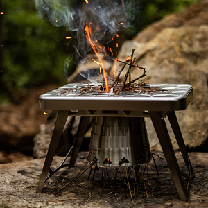 woodburning camping stove